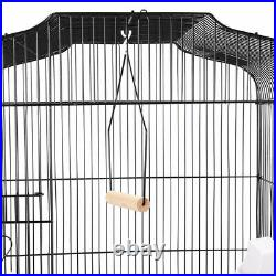 Large Metal Bird Cage for Budgie Canary Parakeet Canary Cockatiel Finch Lovebird