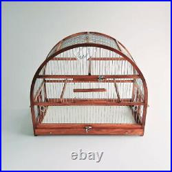 Large Oval Bird Cage // Bird House // Bird Home // Wooden Handcrafted // Rustic