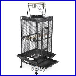 Large Play Top Bird Cage Parrot Finch Macaw Cockatoo