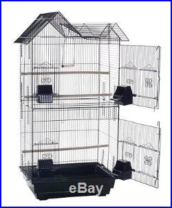 Large Tall Canary Parakeet Cockatiel LoveBird Finch Cages Bird Cage White-888