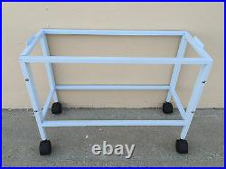 Lot of 4 Stack & Lock Double Bird Breeding Flight Cages Dividers Rolling Stand