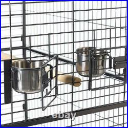 Macaw Cage Prevue 3155S Silverado Dometop Cage With 3 Stainless Steel Bowls