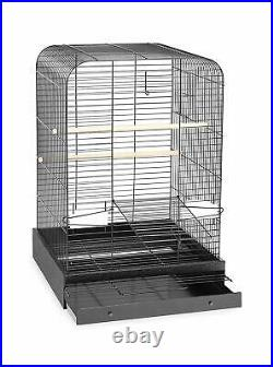 Madison 29 Bird Cage for Parakeet Cockatiel Parrot with 2 Cups, Perches