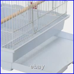 Metal Large Bird Cage for Budgie Lovebird Canary Cockatiel Finch Parakeet or Pet