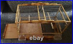 NEW Amazing Wood Birds Cage. Goldfinch/ Mule/ Canary/. Handmade