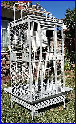 NEW Large Bird Parrot Open PlayTop Cage Cockatiel Macaw Conure Aviary Finch 555