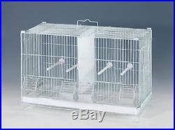 NEW Large CAMBO-4 of Bird Finch Lovebirds Breeding Breeder Cages WithRolling Stand