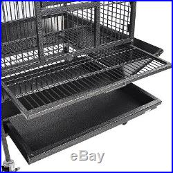 New 70 Parrot Bird Cage Play Top Storey Ladder Free Toy Pet Supply Color Opt