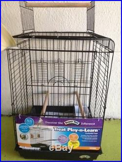 New Bird Cage. Superpet AVIAN TREAT-PLAY-LEARN CAGE FOR COCKATIEL 045125801590