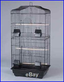 New Tall Cockatiel Parakeet Finch Canary Bird Cage With Black Stand 6803-291