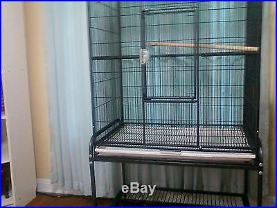Nice Big Flight Cage for birds or sugar gliders pickup only Houston Texas area