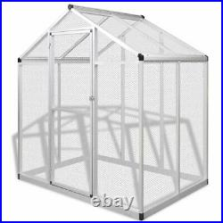 Outdoor Bird Aviary House Parrot Canary Animals Metal Cage Walk in Aluminum Mesh