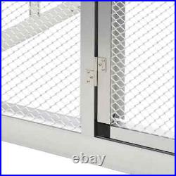 Outdoor Bird Aviary House Parrot Canary Large Cage Animals Safe Fence Playpen