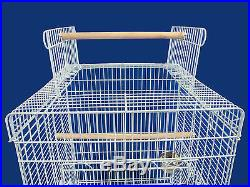 PARROT CAGE BIRD CAGES w STAND 901 W