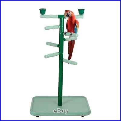 PARROT LARGE BIRD PLAY GYM STAND PP103 32X22X54 toy cage cages toys macaw