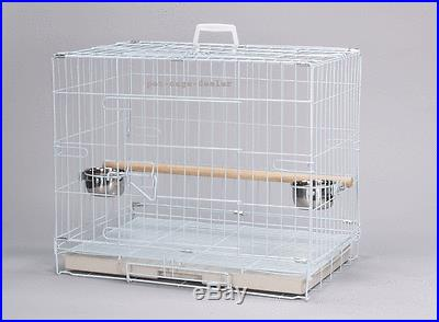 Parrot Bird Cage Travel Carrier Pet Small Animal Carrier 24 x 17 x 20H