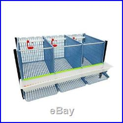 Partridge Cage 2 Layer (Easy to Clean, Hygienic & Effective Breeding)