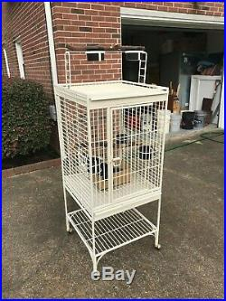 Prevue Hendryx California Birdcage, Wrought Iron, Heavy Duty, Top Of The Line