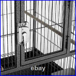 Prevue Pet Products Hampton Deluxe Divided Breeder Cage black
