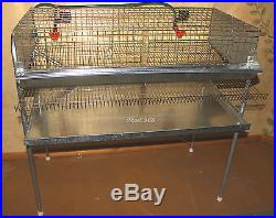 QUAIL LAYER CAGES OR BREEDING, PENS FOR HATCHING EGGS