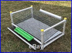 Quail cage for up to 40 birds, stackable