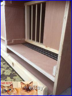 SRP PETS Made To Measure All Purpose Nest Boxes Economy 14 H x 20 W x 20 D