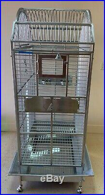 Stainless Steel European Style Kings Cage Model 306 SS