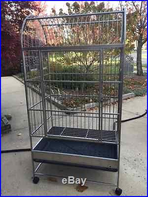 Stainless Steel Parrot/Bird Cage