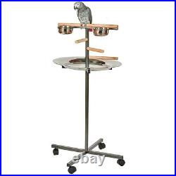 T-Bar Parrot Stand A great sized stand for medium and large sized Parrots