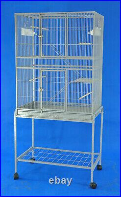 White Color Flight cage pet Cage Bird cage animal cage parrot cage cocktail cage