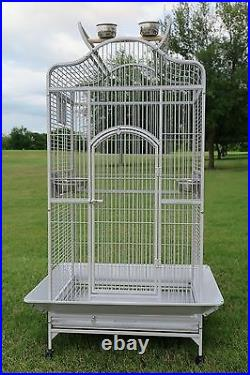X-Large Bird Parrot Open PlayTop Cage Cockatiel Macaw Conure Aviary Finch 583